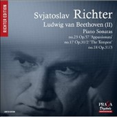 Beethoven, Vol. 2 - Piano Sonatas No. 23 'Appassionata', No. 17 'The Tempest'; No. 18 / Sviatoslav Richter, piano