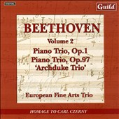 Beethoven: Piano Trios, Vol. 2 - No. 3 in C minor; 'Archduke Trio' in B flat major / European Fine Arts Trio