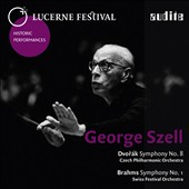 Dvorak: Symphony No. 8; Brahms: Symphony No. 1 / George Szell, live at the Lucerne Festival, 1969, 1962