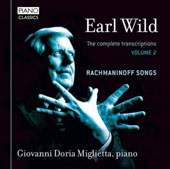 Earl Wild (1915-2010): The Complete Transcriptions of Rachmaninoff Songs, Vol. 2 / Giovanni Doria-Miglietta, piano