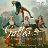 José Galles (1761-1835): Sonatas for Harpsichord / Michele Benuzzi, harpsichord