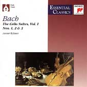 Bach: Suites for Violoncello Vol 1 / Anner Bylsma