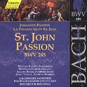Edition Bachakademie Vol 75 - St. John's Passion / Rilling