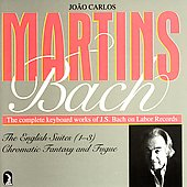 Bach: English Suites 1-3, etc / Joao Carlos Martins