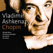 Chopin: Ballade no 4, Barcarolle, Berceuse, etc / Ashkenazy
