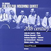 The Original Philadelphia Woodwind Quintet - 20th Century