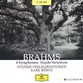 Brahms: 4 Symphonies, Haydn Variations / B&ouml;hm, Vienna PO