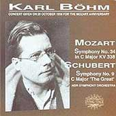 The Mozart Anniversary - Schubert, Mozart: Symphonies / B&#246;hm