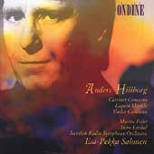 Hillborg: Clarinet Concerto, Violin Concerto, etc / Salonen