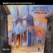 Bach Piano Transcriptions Vol 3 - Friedman, et al / Lane