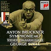 Bruckner: Symphony no 7 / Szell, Wiener Philharmoniker