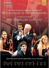 Knowledge is the Beginning: The Ramallah Concert. Works by Mozart, Beethoven and Elgar. Yo-Yo Ma, West-Eastern Divan Orchestra - Daniel Barenboim [2 DVD]