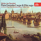 Tom&#225;sek: Piano Concertos no 1 & 2 / V&#225;lek, Simon, Prague RSO