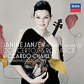 Mendelssohn, Bruch: Violin Concertos, Romance / Janine Jansen, et al