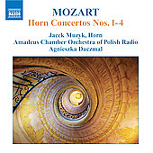 Mozart: Horn Concertos no 1-4 / Muzyk, Duczmal, et al