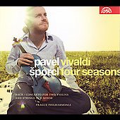 Vivaldi: Four Seasons;  Bach / Sporcl, Prague Philharmonia