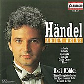H&auml;ndel: Arias / Arman, Handel Festival Orchestra