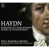 Haydn: Sonates et Variationes pour le Pianoforte / Paul Badura-Skoda