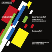 Schnittke: Symphony no 9, Concerto Grosso no 1 / Hughes, et al