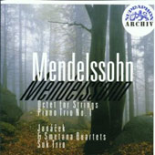 Mendelssohn: Octet; Piano Trio No. 1