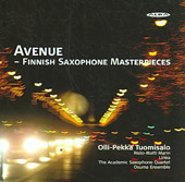 Avenue: Finnish Saxophone Masterpieces