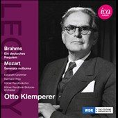 Brahms: German Requiem; Mozart / Klemperer
