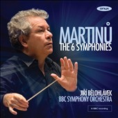 Martinu: The 6 Symphonies / Belohlavek, BBC Symphony