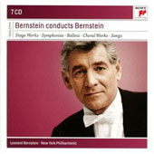 Leonard Bernstein conducts Bernstein - Stage works, Symphonies, Ballets, Choral Works, Mass [7 CDs]