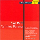 Orff: Carmina Burana for chamber choir, soloists and 2 pianos / Ruiten, Genz