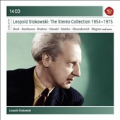 Leopold Stokowski: The Stereo Collection 1954-1975 - Bach, Beethoven, Brahms, Handel, Mahler, Shostakovich, Wagner et al.  [14 CD]