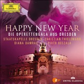 Happy New Year: Opera Gala from Dresden / Diana Damrau; Piotr Beczala. Thielemann