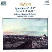 Haydn: Symphonies no 54, 56 & 57 / M&uuml;ller-Br&uuml;hl, Cologn CO