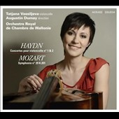 Haydn: Concertos for Cello Nos. 1 & 2; Mozart: Symphoy No. 29 / Tatjana Vassiljeva, cello
