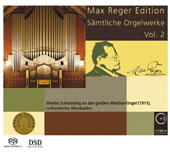 Max Reger (1873-1916): Complete Organ Works, Vol. 2 - Introduction, Passacaglia and Fugue in E minor; Nine Pieces for Organ, Op. 129 / Martin Schmeding, organ