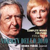 Dello Joio: The Complete Works for Piano Vol 1 / Debra Torok
