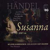 Handel: Susanna / Neumann, Holton, Magnus, Buwalda, et al