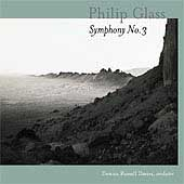 Glass: Symphony no 3, The Light, etc / Russell Davies, et al