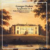 Onslow: Symphonies no 2 and 4 / Goritzki, Hannover Radio PO