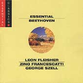 Essential Beethoven / Fleicher, Francescatti, Szell, et al