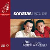Franck, Brahms: Sonatas;  Schumann / Wispelwey, Giacometti