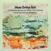 J.C. Bach: Complete Works for Piano Four Hands / Piano Duo