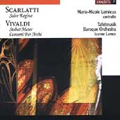 Vivaldi: Stabat Mater, etc;  Scarlatti: Salve Regina / Lamon, Lemieux, et al