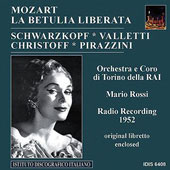 Mozart: La Betulia Liberata / Rossi, Schwarzkopf, Valletti