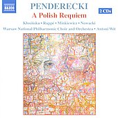 Penderecki: A Polish Requiem / Wit, et al