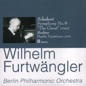 Schubert: Symphony no 9;  Brahms: Variations / Furtw&auml;ngler