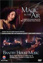 The Vanbrugh Quartet plays Faure / Magic In The Air & Bantry House Music [DVD]