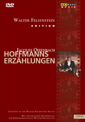 Offenbach: The Tales of Hoffmann (Felsenstein Edition) / Voigtmann / Komische Oper Berlin / Nocker [2 DVD]