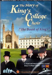 The Story of King's College Choir - A visual and musical journey around King's College Chapel with music by Parsons, Allegri, Howells, Porter [DVD]