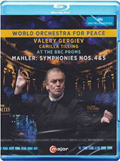 Gustav Mahler: Symphonies nos 4 & 5 / Camilla Tilling, soprano; World Orchestra for Peace, Valery Gergiev (live at the BBC Proms, 2014) [Blu-ray]