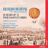 Fran&ccedil;ois Devienne - Le Mozart fran&ccedil;aise / Lussier, et al